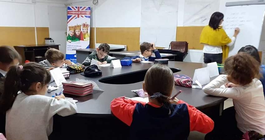 Program de limba engleza pentru copii